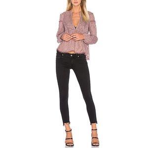 Revolve Paige Verdugo Ankle Uneven Hem VTG Jeans